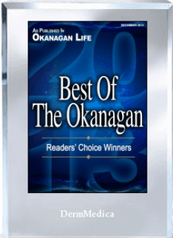 okanagan life readers choice award dermmedica