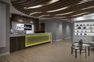 dermmedica reception area